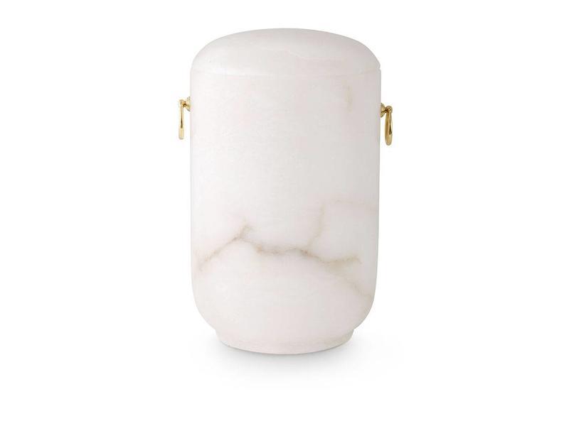 Asbus urn wit - alabast