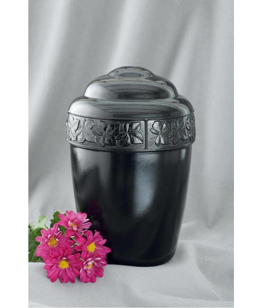 Natuurzwart urn - bio