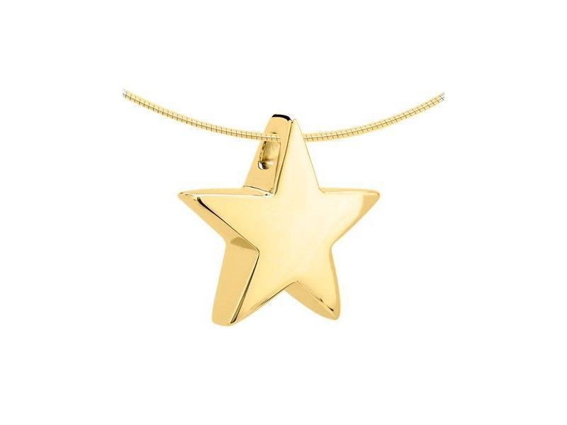 Ashanger ster - goud