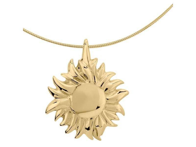 Asmedaillon zon - goud
