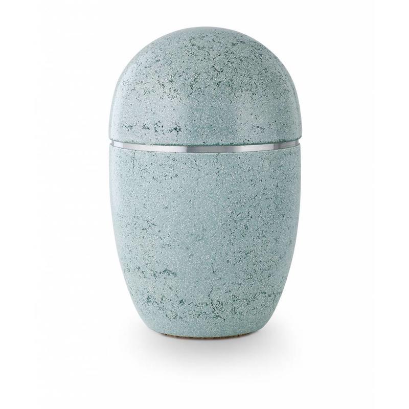 Asbus stone groen - staal