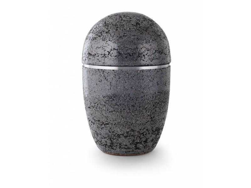 Asbus stone zwart - staal
