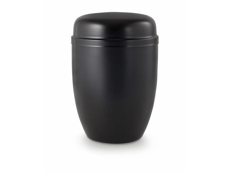 Bokaal urn zwart - staal