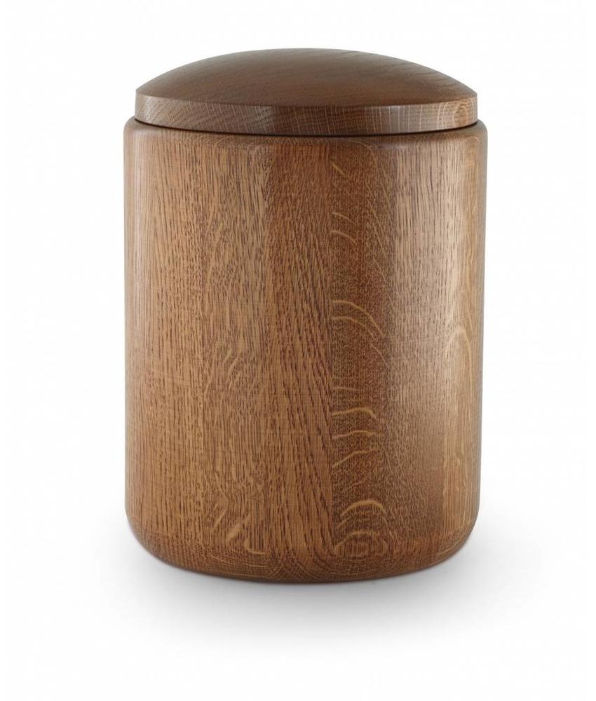 Eikenhout urn regular - hout