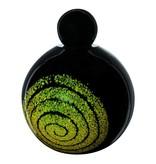 De levenscirkel urn groot - glas