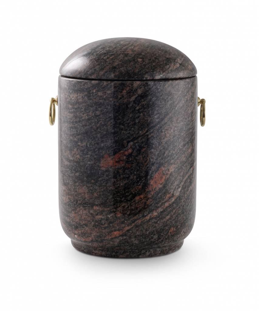 Asbus aroba rood zwart graniet bij - Eetkamer rood en zwart ...