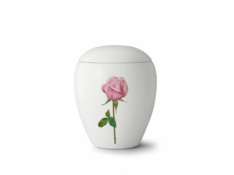Bianco roos urn - keramiek