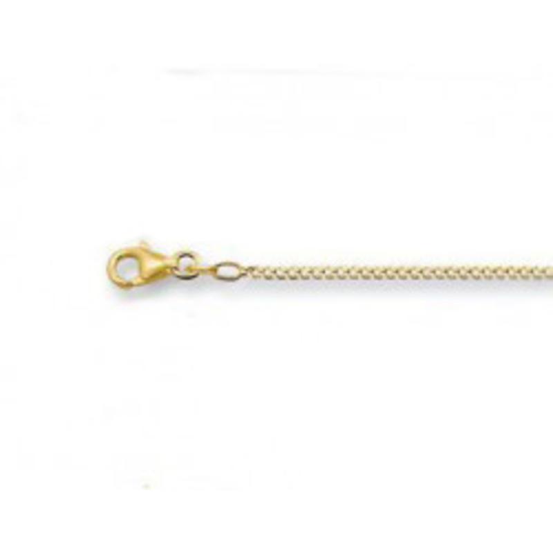 Gourmet halsketting 50 cm -1.8 mm - goud