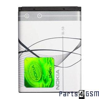 Nokia BL-5B Accu - 3220,3230,5140,5140i,5300,5320, 5500,6020,6021,6070,6120,N80