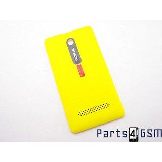 Nokia Asha 210 Accudeksel, Geel, 02503F4