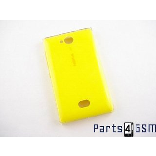 Nokia Asha 503 Battery Cover, Yellow, 02504J9