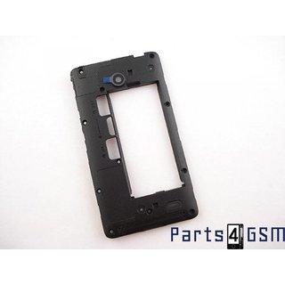 Nokia X Dual SIM Middle Cover, Black, 8003208