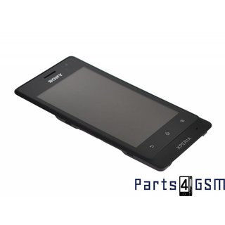 Sony Xperia Go (ST27i) Lcd + Touchscreen Display + Frame 1264-8191