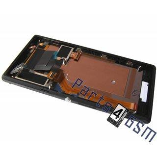 Sony Xperia M2 D2303, D2305, D2306 Lcd Display Module, Zwart, 78P7120001N