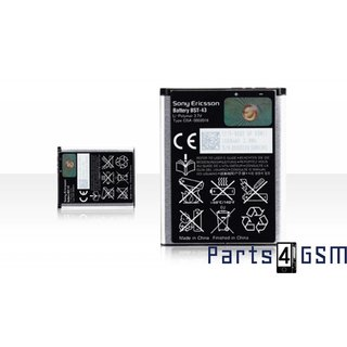 SonyEricsson BST-43 Battery, Cedar, Elm, Hazel, Mix Walkman, TXT, TXT Pro, Yari, 1000mAh