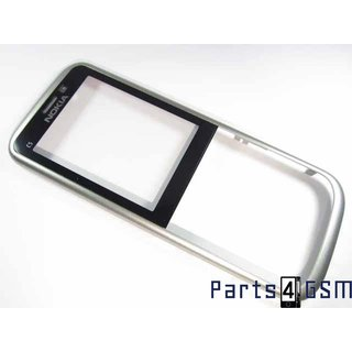 Nokia C5-00 Front Cover Warm Zilver 0257702