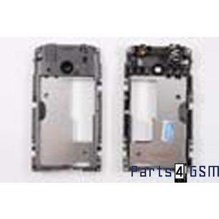 Nokia Asha 311 Middle Cover, Black, 258147