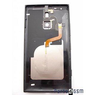 Nokia Lumia 1520 Achterbehuizing, Zwart, 00810N1