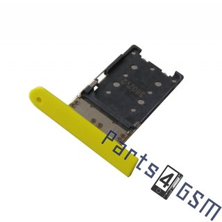 Nokia Lumia 1520 Sim Card Tray Holder, Yellow, 0269D99