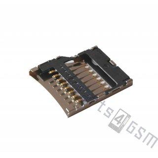 Nokia Lumia 520 MicroSD kaartlezer connector, 54699T8