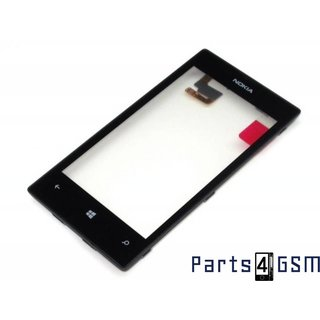 Nokia Lumia 520, 525 Touchscreen + Frame Black 00809L1