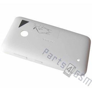 Nokia Lumia 530 Achterbehuizing, Wit, 02507L2