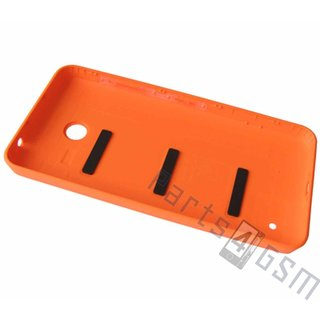 Nokia Lumia 630 Battery Cover, Orange, 02506C4