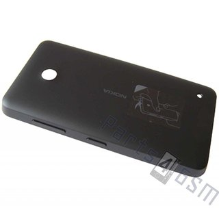 Nokia Lumia 630 Battery Cover, Black, 02505S5