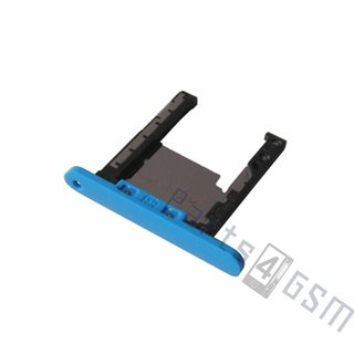 Nokia Lumia 720 Memory Card Tray Holder, Cyan, 0269D27
