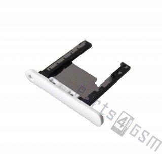 Nokia Lumia 720 Memory Card Tray Holder, White, 0269C40
