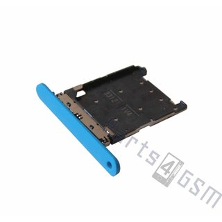 Nokia Lumia 720 Sim Card Tray Holder, Cyan, 0269D24