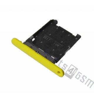 Nokia Lumia 720 Simkaarthouder, Geel, 0269D23
