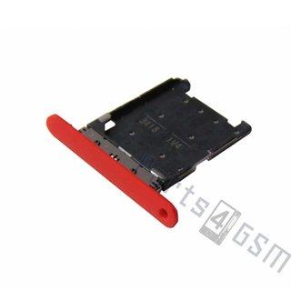 Nokia Lumia 720 Sim Card Tray Holder, Red, 0269D25