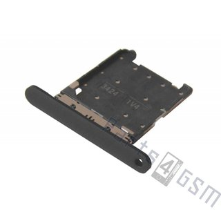 Nokia Lumia 720 Sim Card Tray Holder, Black, 0269D22