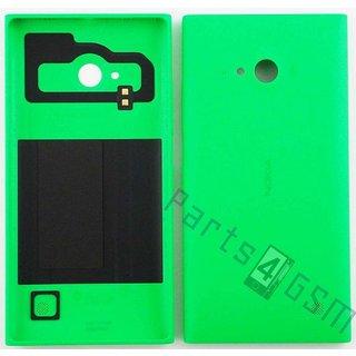 Nokia Lumia 730 Achterbehuizing, Groen, 02507Z4