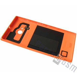 Nokia Lumia 730 Back Cover, Orange, 02507Z5
