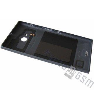 Nokia Lumia 730 Achterbehuizing, Zwart, 02507Z3