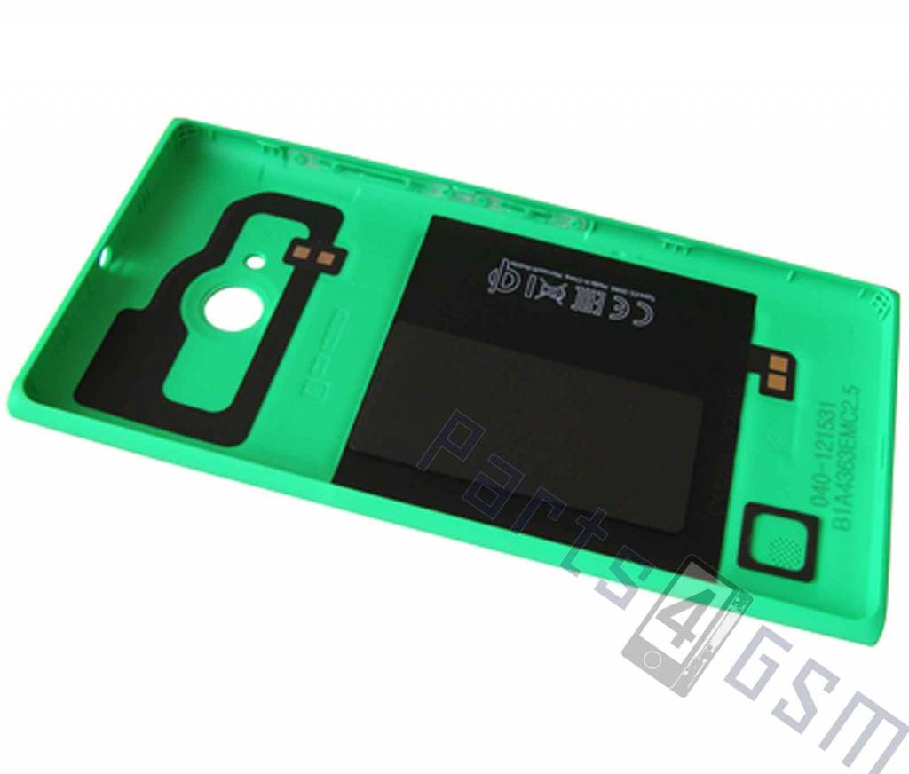 nokia lumia 735 back cover green 02508b1 dutchspares