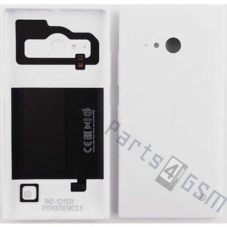 Nokia Lumia 735 Achterbehuizing, Wit, 02507Z8