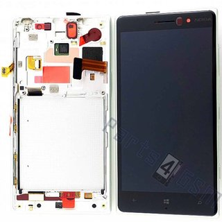 Nokia Lumia 830 LCD Display Module, Silver, 00812T0