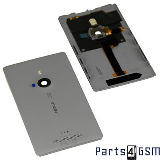 Nokia Lumia 925 Back Cover, Grey, 00811D0; 00810B6