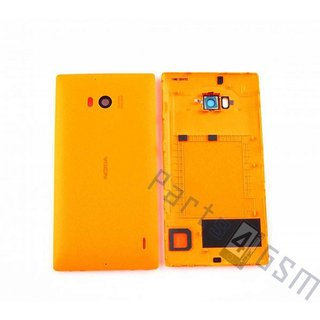 Nokia Lumia 930 Battery Cover, Orange, 02507T9