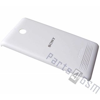 Sony Xperia E1 D2005 Battery Cover, White, A/405-58650-0001