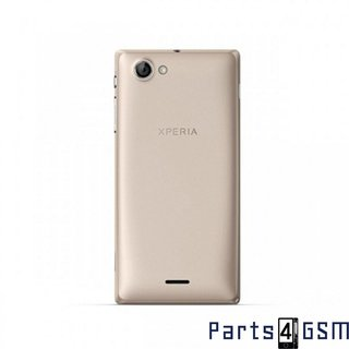 Sony Xperia J ST26i Battery Cover Gold 1266-4452