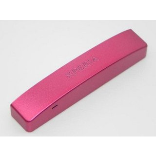 Sony Xperia P LT22i Bottom Cover Pink 1266-0029