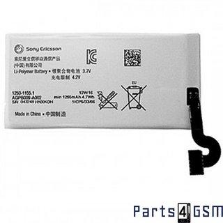 Sony Accu, AGPB009-A002, 1265mAh, 1253-1155