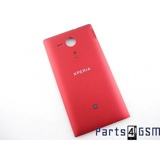 Sony Xperia SP (LTE C5303) Accudeksel, Rood, 1270-3768