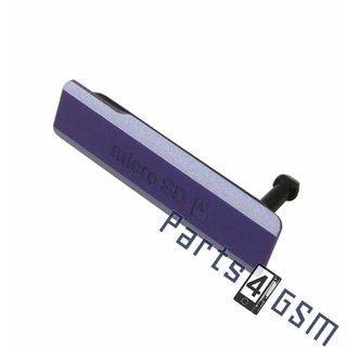 Sony Xperia Z1 (L39H C6903) Memory Card Cover, Purple, 1274-9010