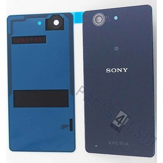 Sony Xperia Z3 Compact Battery Cover, Black, 1285-1181