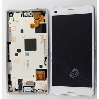 Sony Xperia Z3 Compact LCD Display Module, White, 1289-2680